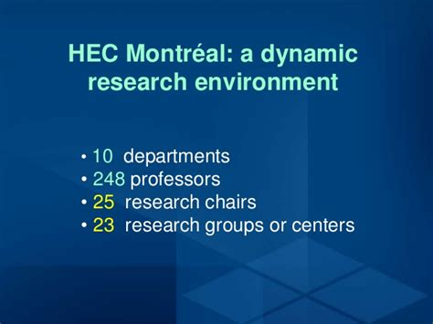 Hec Montreal Mba Placement Report by Hec Montr 233 Al Ph D In Adminstration A Strategic Choice