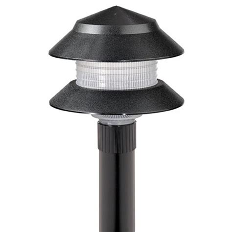 Low Voltage Lighting Outdoor Low Voltage 1 2 Watt Black Outdoor Integrated Led Landscape Path Light Cy2001 08w The Home Depot