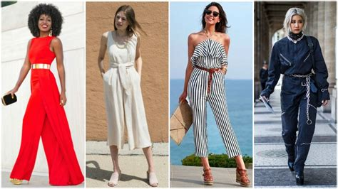 Jumpsuit Maroon Belt how to wear a jumpsuit like a style expert thetrendspotter