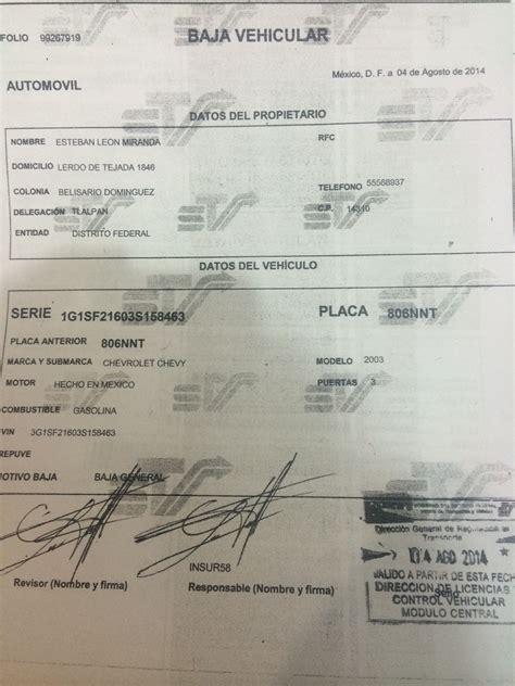 pago de tenencia 2014 del d f tesoreria df tenencia consulta tesoreria del d f tenencia