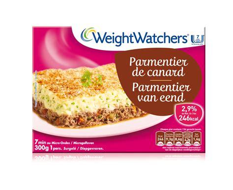 plats cuisin駸 weight watchers le parmentier de canard weight watchers surgel 233 s de heinz