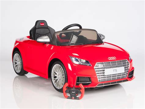 ride on car licensed audi tts roadster electric ride on sports car
