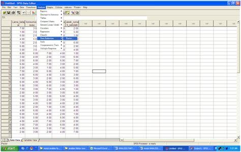 contoh kasus dan aplikasi analisis faktor dalam uji validitas konstrak