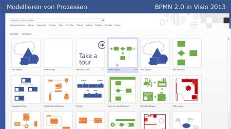 how to learn visio bpmn 2 0 bpmn in visio 2013 tutorial part 7