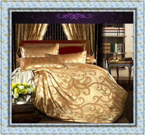 gold bedding sets get cheap gold bedding sets aliexpress