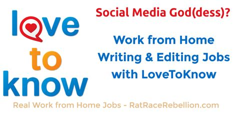 Online Editing Jobs Work From Home - lovetoknow archives real work from home jobs by rat race rebellion