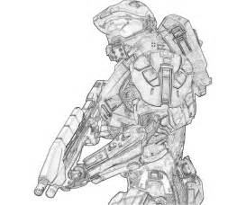 halo color free halo 5 coloring pages