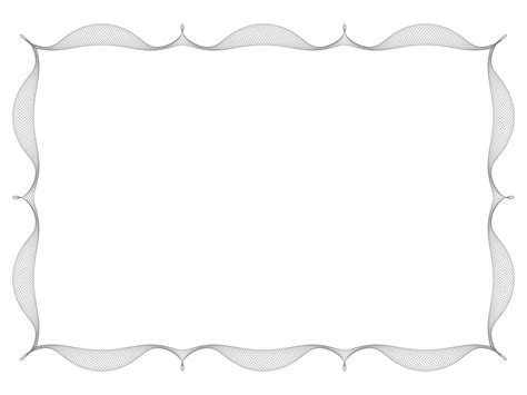 frame border template simple frame powerpoint template 4 best