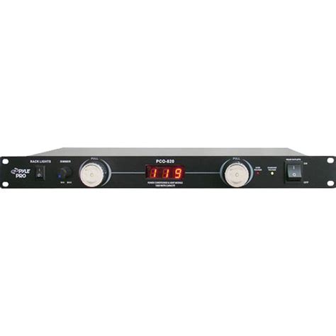 Rack Mount Power Conditioner by Pyle Pro Pco820 Rack Mounted Power Conditioner Pco820 B H Photo