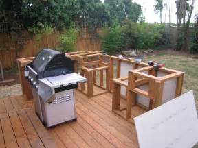 how to build an outdoor kitchen island outdoor cooking bbq island made simple step 1 framing