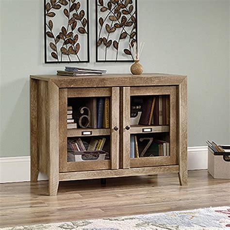 sauder oak storage cabinet sauder dakota pass craftsman oak storage cabinet 418268
