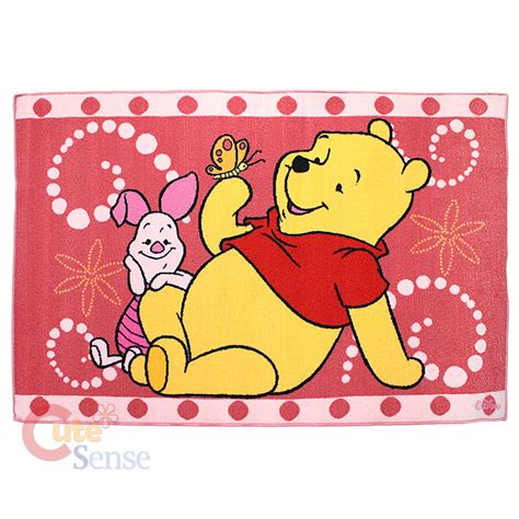 pooh rug winnie the pooh piglet rug carpet accent mat 40x60 pink ebay
