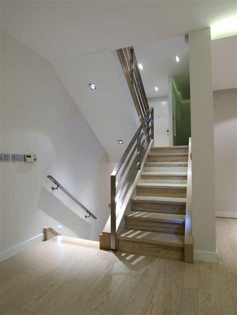 Stainless Steel Banister Rails Escaleras De Interior Y Exterior Con Iluminaci 243 N Led