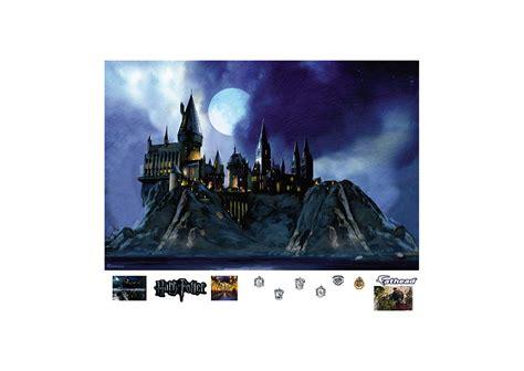 hogwarts wall mural hogwarts castle mural wall decal shop fathead 174 for harry