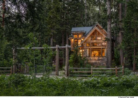 World Cottages by Lake Tahoe Home Modern Techniques Help Create World