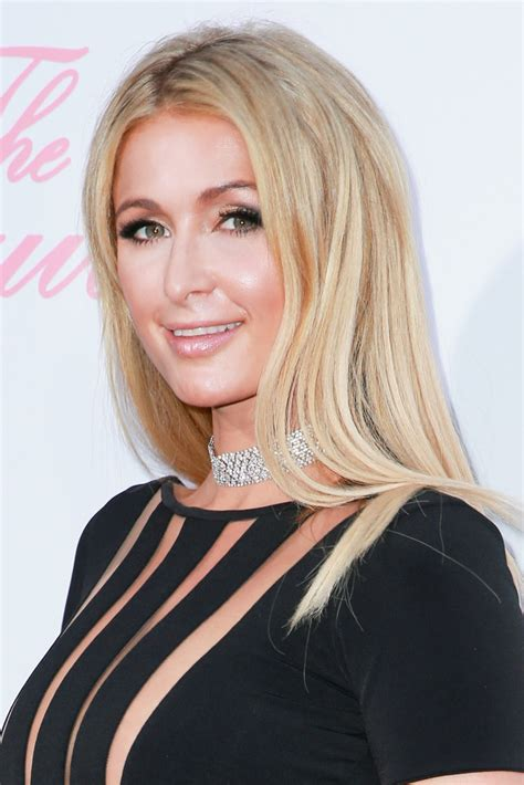 hair styles in paris paris hilton long straight cut lookbook stylebistro