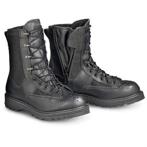 s rocky 174 waterproof duty boots black 112783 combat