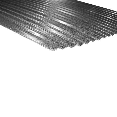 metal sales 10 ft x 2 1 2 in corrugated metal roof panel