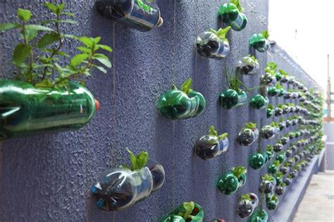 diy creation   modern garden  upcycling plastic