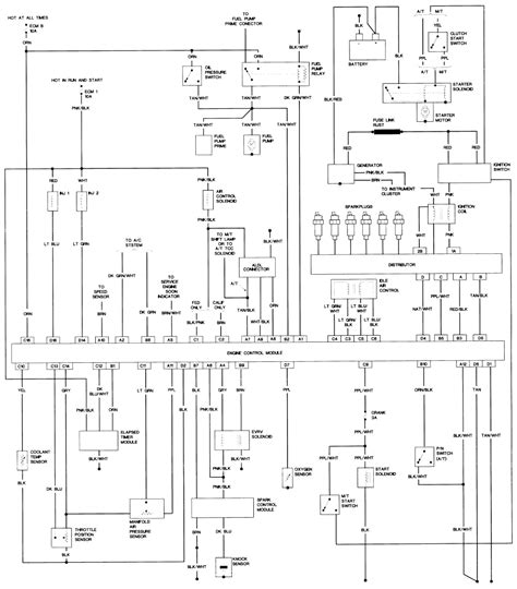 1990 chevrolet k1500 wiring diagrams schematic electrical diagram for 1990 chevy 4wd diagram
