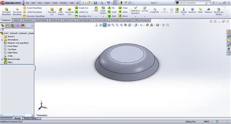 solidworks tutorial forming tool tutorial creating forming tool sheet metal in