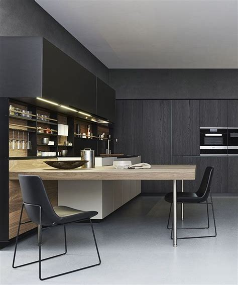 Poliform Kitchen Design Cr S Varenna 2014 An Exclusive Model Where All The Kitchen Units Are Inspired By
