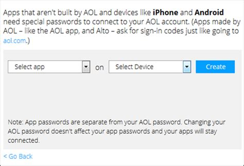 aol mail android settings aol mail for android settings