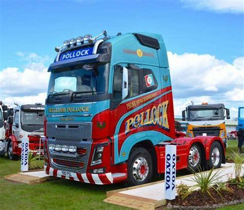 pin  gavin anderson  pollock scotrans  volvo volvo trucks classic trucks