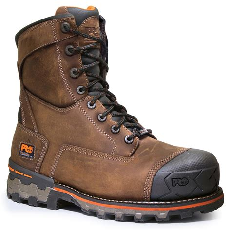 timberland pro boondock composite toe waterproof work boot