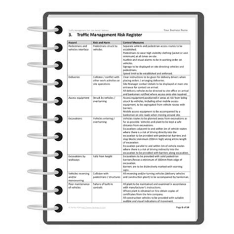 construction traffic management plan template darley pcm