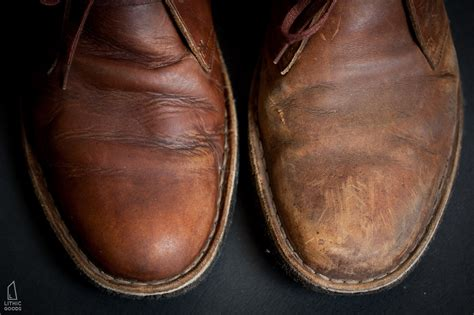 Way To Clean Leather by How To Clean Clarks Beeswax Desert Boots