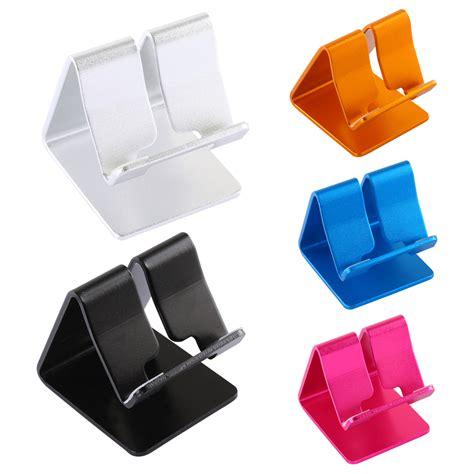 Smiley Aluminium Alloy Mobile Phone Stand Holder 7x7x6cm aluminium alloy desk table desktop stand holder for mini cell phone tablet pc e