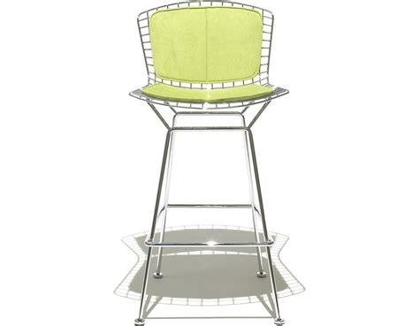 Bertoia Bar Stool With Seat Pad by Bar Stool Back Cushions Shapeyourminds