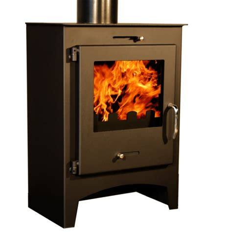 Contemporary Wood Burning Stoves 5kw Contemporary Wood Burning Multi Fuel Stove