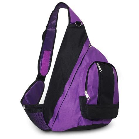 Baba Slings Navy Purple sling bag everest bag
