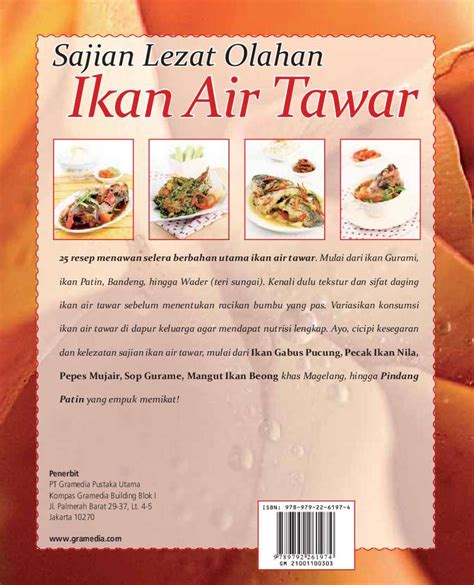 Buku Aneka Olahan Ikan Bandeng jual buku aroma rasa kuliner indonesia sajian lezat olahan ikan air tawar oleh lilly t erwin