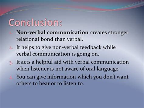 Business Communication For Mba Students Ppt by Non Verbal Communication Ppt