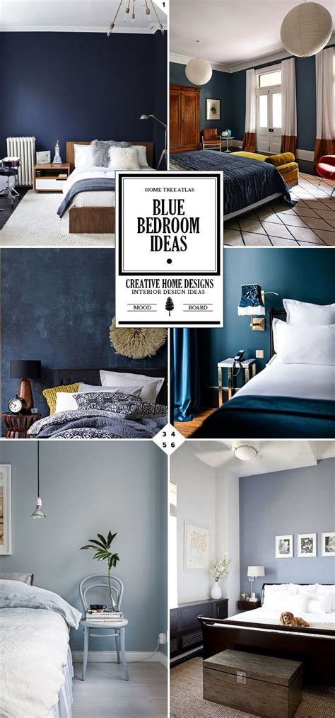 blue mood paint color style guide blue bedroom ideas and designs blue