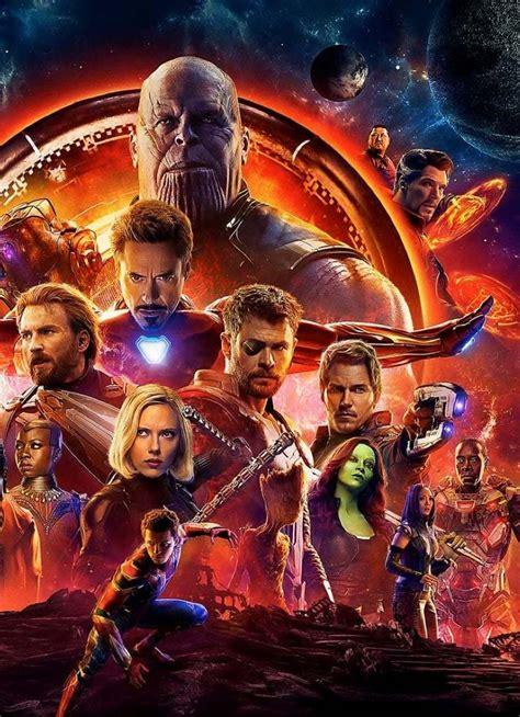 Avengers Infinity War Official Poster, Full HD Wallpaper