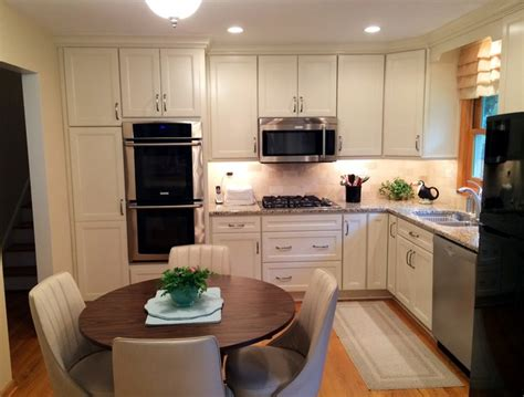 4 steps to build l shaped kitchen designs modern kitchens small white quot l quot shaped kitchen in naperville by adam