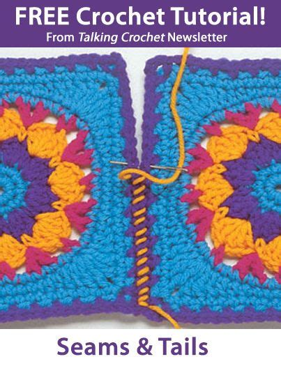 tutorial php newsletter learn about sewing seams in this free crochet tutorial