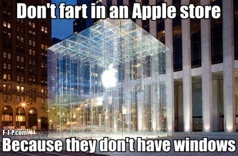 pun meme apple windows technology pun joke pictures
