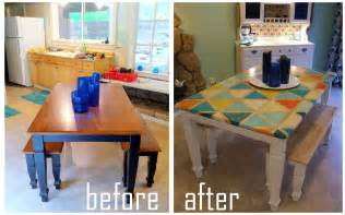diy kitchen table top dining table diy painting dining table