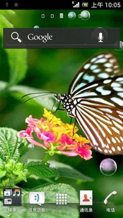 live butterfly themes download butterfly live wallpaper for android by l