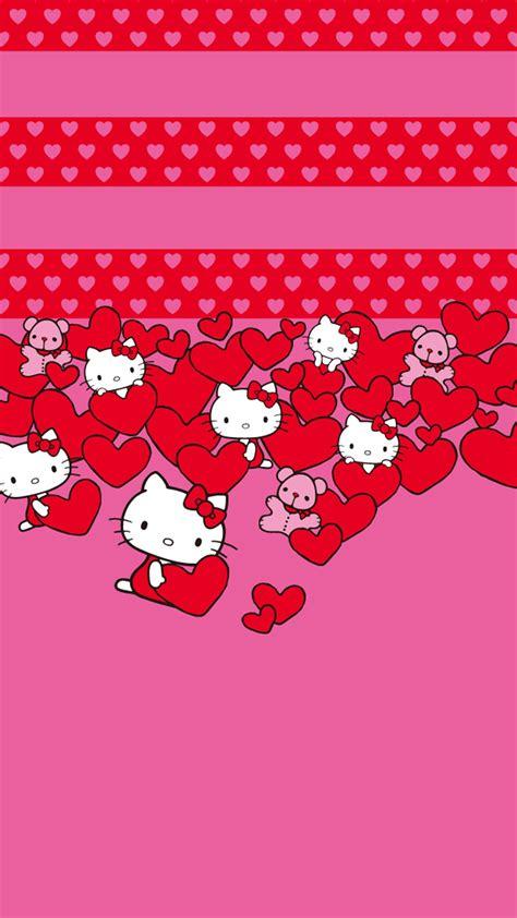 hello kitty valentines desktop wallpaper hello kitty hearts samsung wallpapers samsung galaxy s5