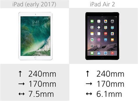 air 2 specs 2017 vs air 2