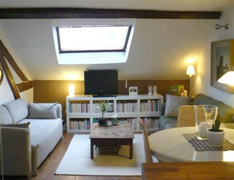 Kleine Dachgeschosswohnung Einrichten by Dachwohnung Einrichten 35 Inspirirende Ideen