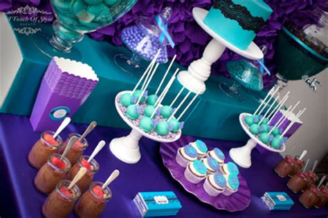 purple and teal 30th birthday all