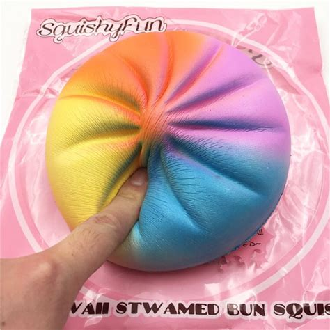 Kawaii Squishy Bun Rainbow Galaxy Squishy With Original Packaging 693 Best Squishies Squeeze Toys Images On