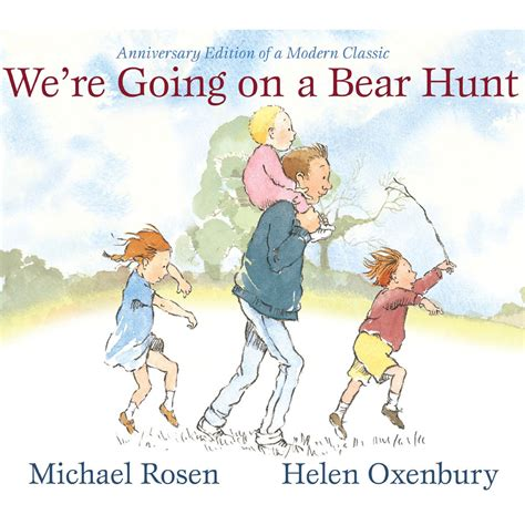 were going on a we re going on a bear hunt yolk